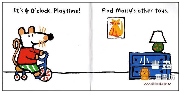 內頁放大:小鼠波波貼紙書:Maisy,s day (波波的一天)(平裝)