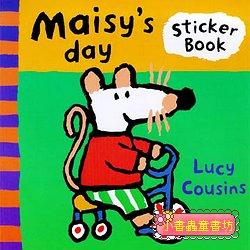 小鼠波波貼紙書:Maisy,s day (波波的一天)(平裝)