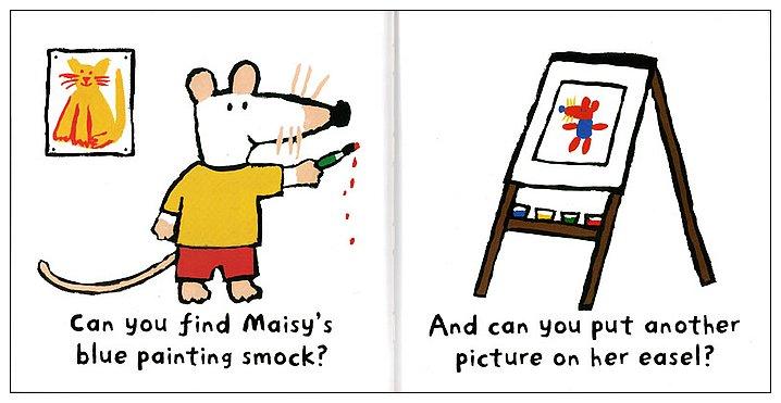 內頁放大:小鼠波波貼紙書:Dress Maisy(幫波波穿衣服)(平裝)