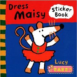 小鼠波波貼紙書:Dress Maisy(幫波波穿衣服)(平裝)
