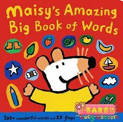小鼠波波翻翻書:Maisy,s Amazing Big Book Of Words(波波的字彙大書)(平裝)