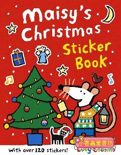 小鼠波波貼紙書:Maisy's Christmas sticker book(波波的聖誕節貼紙書)(平裝)