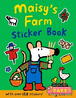 小鼠波波貼紙書:Maisy,s Farm sticker book(波波的農場貼紙書)(平裝)