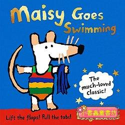 小鼠波波翻拉書:Maisy goes Swimming
