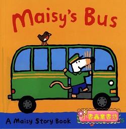 小鼠波波繪本故事(幼幼):Maisy Drives the Bus(波波開公車)(平裝本)