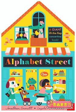 Alphabet Street(硬頁+連環+翻翻書)(特價)