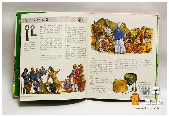 內頁放大:透視歷史系列:維京人 (附4頁透明片解剖圖) (絕版庫存書) (特價 )