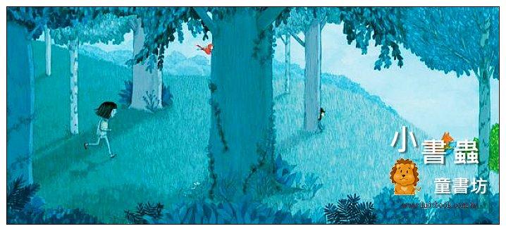 內頁放大:森林裡的小狐狸 (無字繪本) (9折)