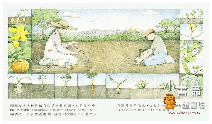 內頁放大:野地上的花園 <親近植物繪本> (85折)