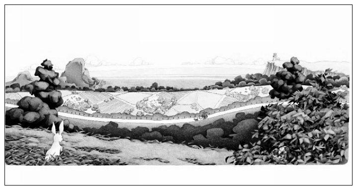 內頁放大:當天使飛過人間 (珍藏版)(無字繪本)(85折)