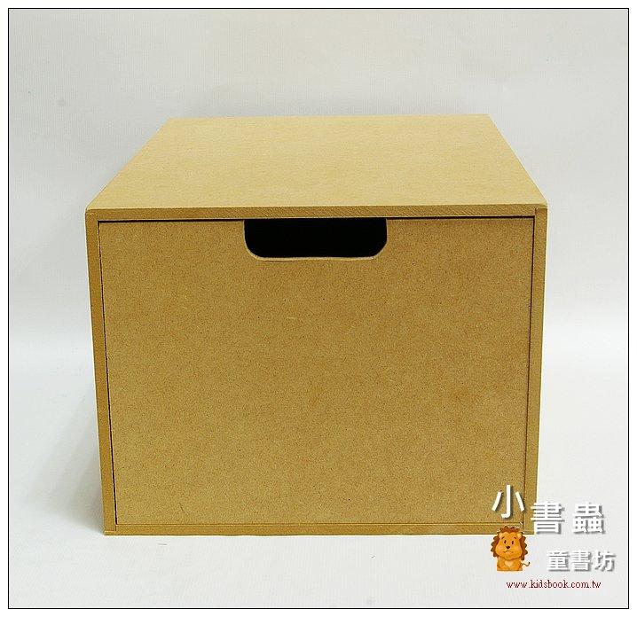 內頁放大:組合式收納抽屜(1/4款)─單個(可搭配萬用書櫃使用)(有現貨)