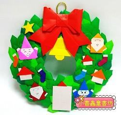 「特大」聖誕圈圈(多元豐富款) Ⅱ (立體葉子)