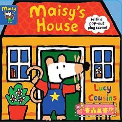 小鼠波波場景遊戲書(硬頁):Maisy,s House