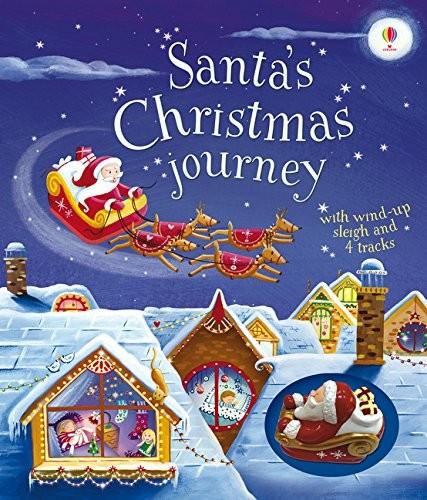 內頁放大:Santa,s Christmas journey(可愛聖誕軌道書)