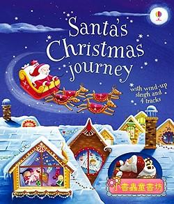 Santa,s Christmas journey(可愛聖誕軌道書)