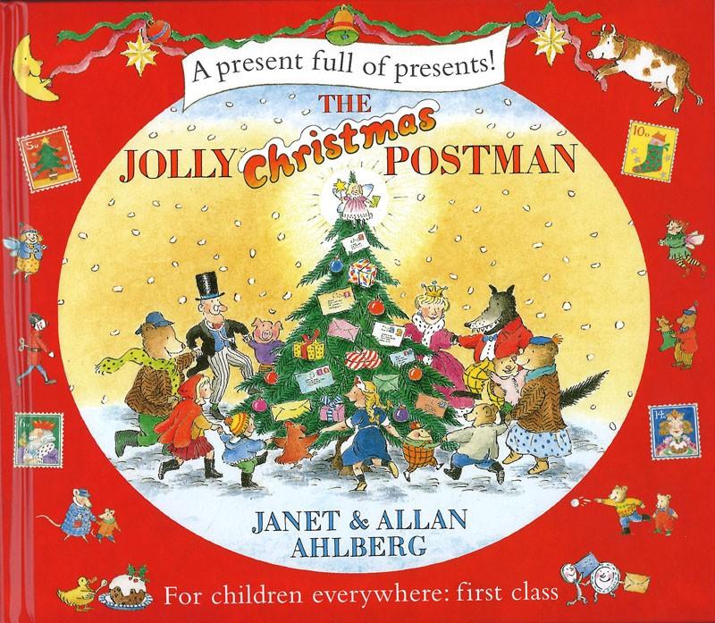 內頁放大:The Jolly Christmas Postman(快樂郵差過聖誕)