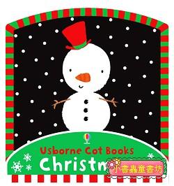 多功能連環床圍布書:USBORNE COT BOOKS : CHRISTMAS (聖誕節)