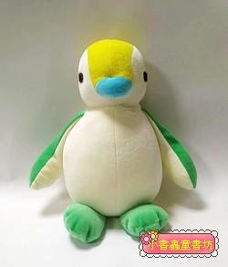 手工綿柔音樂布偶:胖胖企鵝 (黃、綠腳) (台灣製造) 可訂量:1