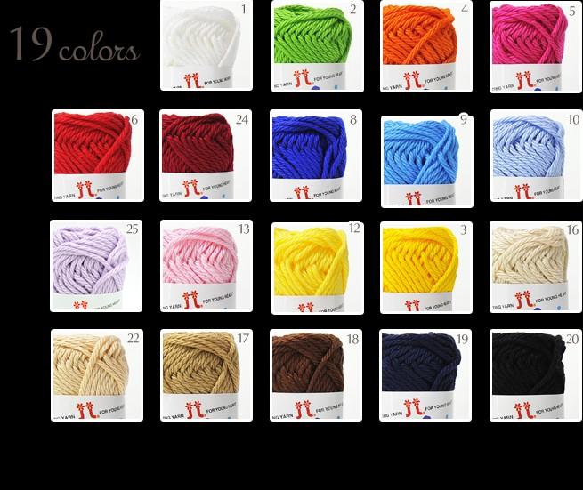 內頁放大:玩偶線材:2213 Amiami Cotton棉線(粗)(編號: )