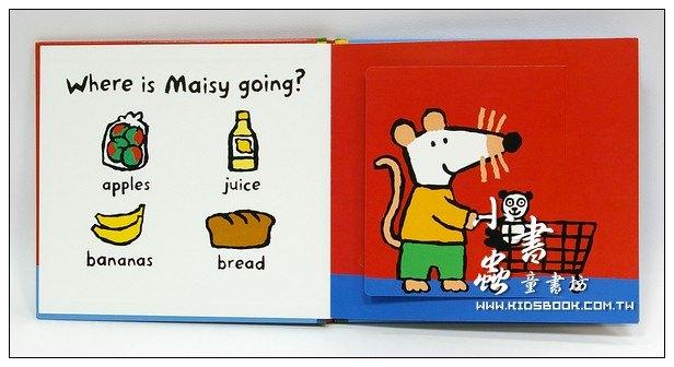 內頁放大:小鼠波波翻翻書:Where is Maisy going?