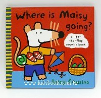 小鼠波波翻翻書:Where is Maisy going?