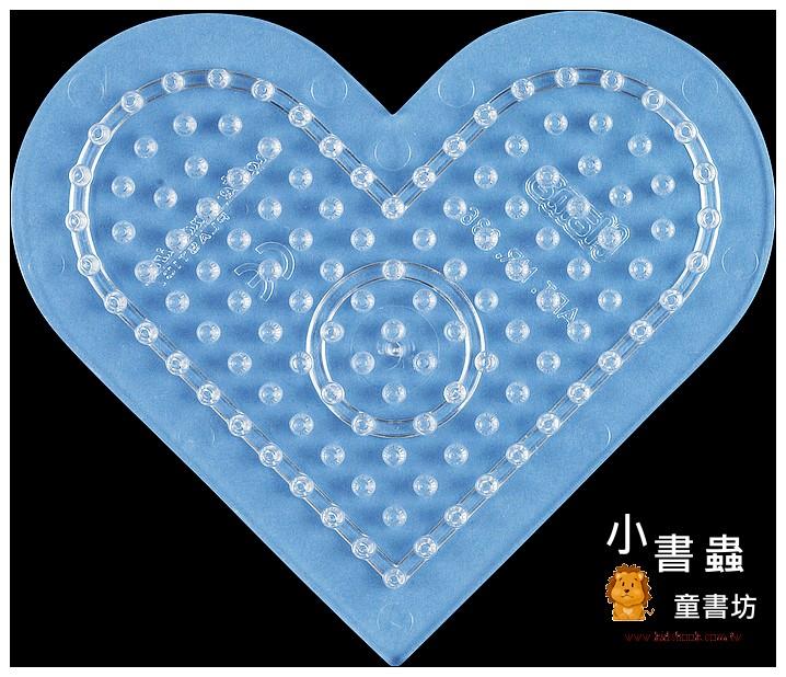 內頁放大:(透明)小愛心板:小拼豆模板