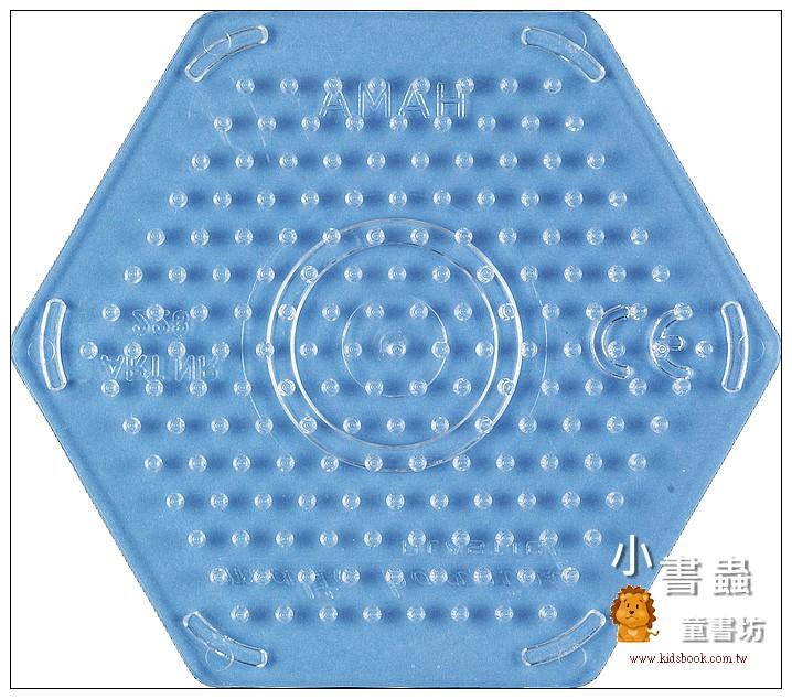 內頁放大:(透明)小六角板:小拼豆模板