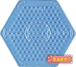 (透明)小六角板:小拼豆模板