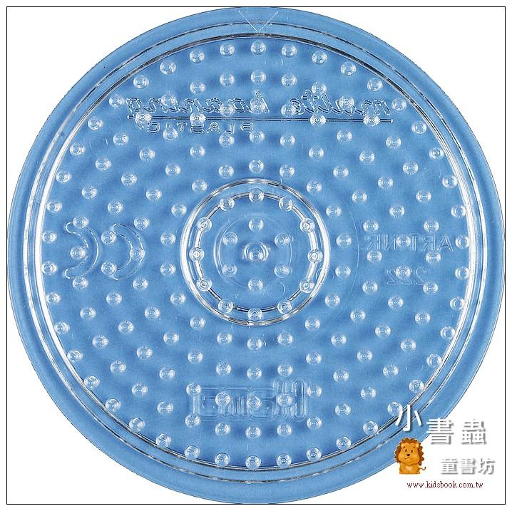 內頁放大:(透明)小圓板:小拼豆模板