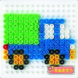 (透明)小正方板:小拼豆模板