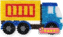 卡車造型模板:小拼豆模板