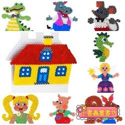 造型模板10合1(D)(童話2):小拼豆模板
