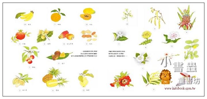 內頁放大:水果是怎麼長出來的呢?<親近植物繪本> (9折)
