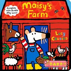 小鼠波波場景遊戲書(硬頁):Maisy,s Farm(波波的農場)