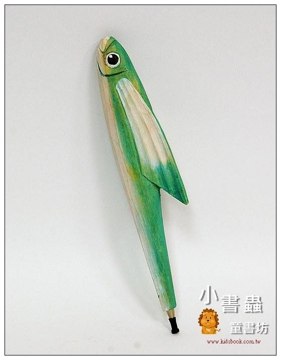 內頁放大:飛魚:純手工木頭動物筆(原子筆)