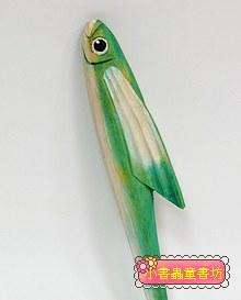 飛魚:純手工木頭動物筆(原子筆)