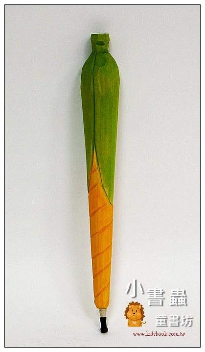 內頁放大:玉蜀黍:純手工木頭動物筆(原子筆)