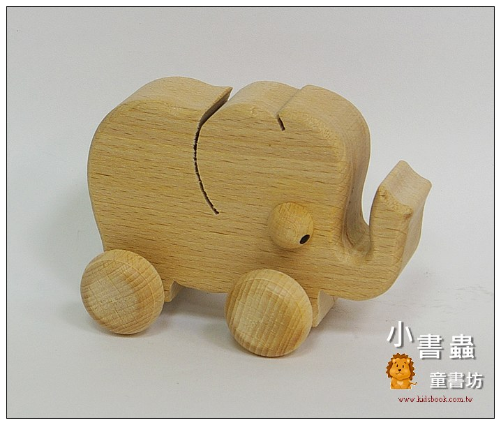 內頁放大:可愛動物車:大象(特價品)現貨:2