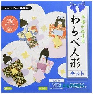 日本摺紙材料包:日本娃娃