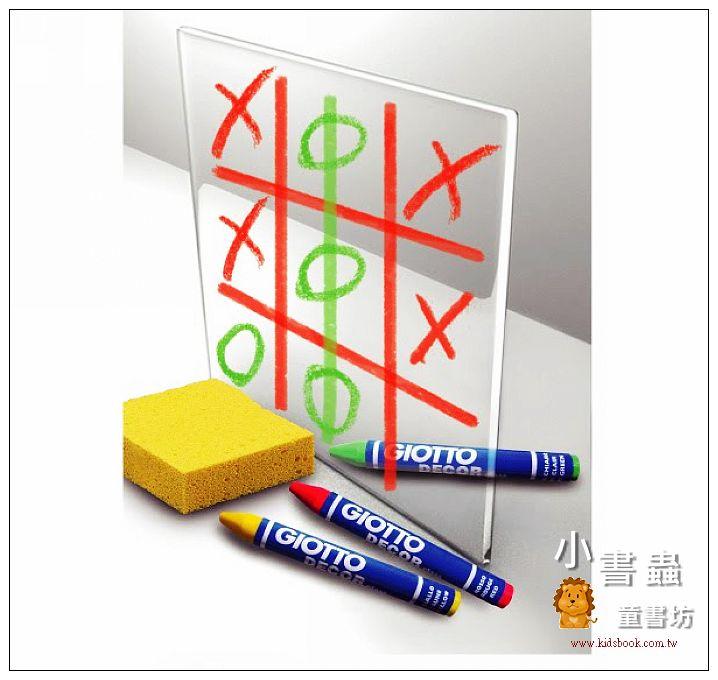內頁放大:【義大利GIOTTO】玻璃彩繪蠟筆(10色)