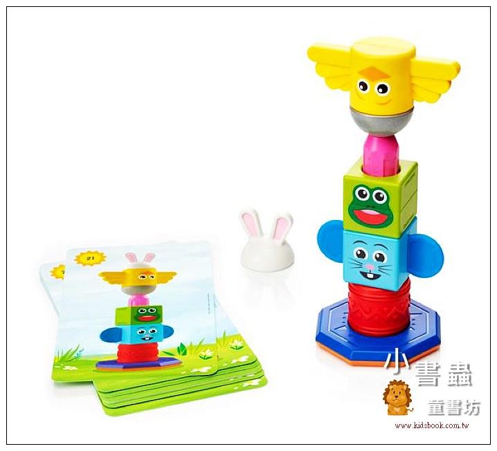 內頁放大:寶寶磁力接接棒:寶寶第一個圖形遊戲 (79折)