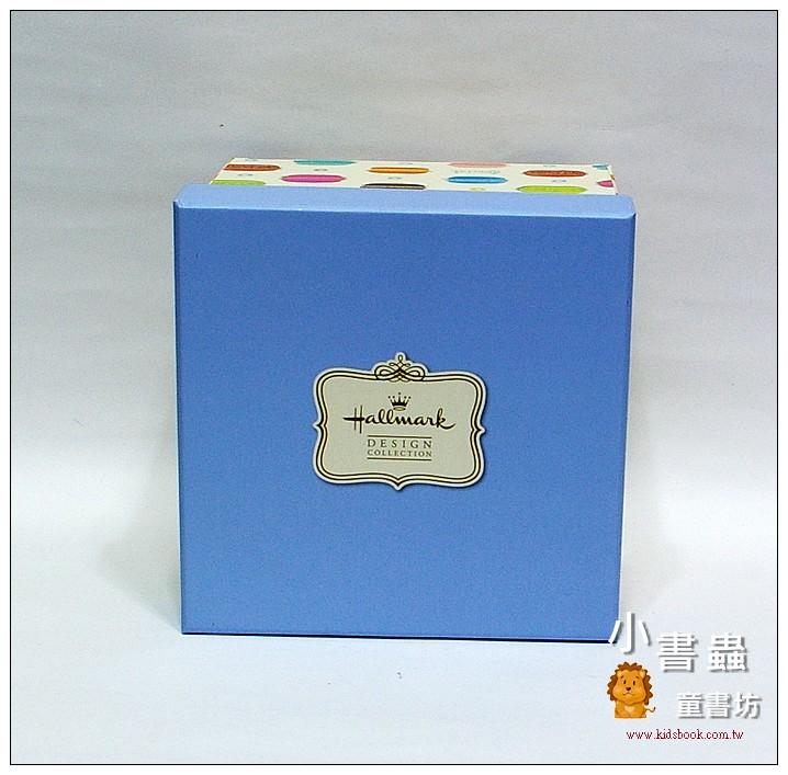 內頁放大:Hallmark圖紋風方型加高禮物盒(馬卡龍)XL(8折)