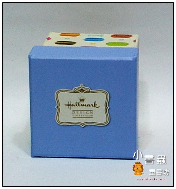 內頁放大:Hallmark圖紋風方型加高禮物盒(馬卡龍)XS(8折)