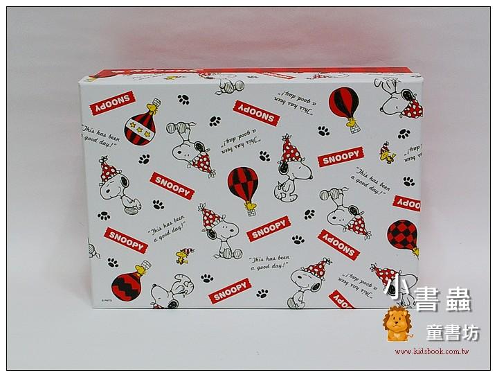 內頁放大:Snoopy長型禮物盒(L)