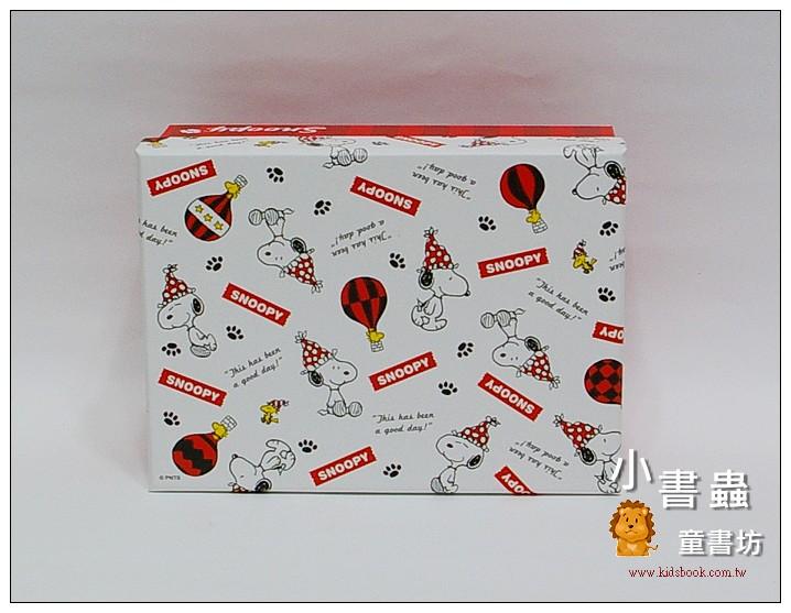 內頁放大:Snoopy長型禮物盒(S)