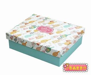 Hallmark圖紋風長型禮物盒(花瓶)L(8折)