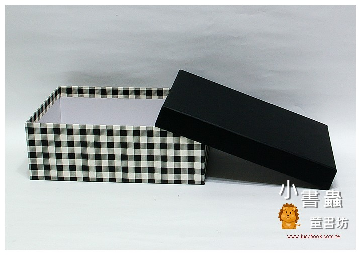 內頁放大:時尚生活格紋禮物盒M(8折)