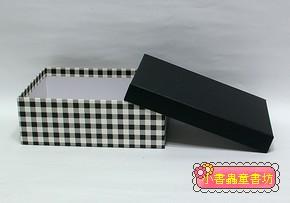 時尚生活格紋禮物盒M(8折)