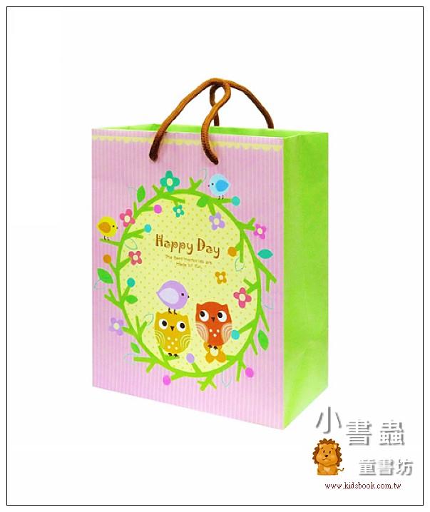 內頁放大:Hallmark-Flora Chang提袋(貓頭鷹) (8折)