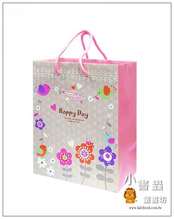 內頁放大:Hallmark-Flora Chang提袋(小鳥花園)(8折)